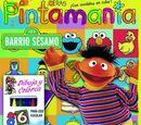 Barrio Sésamo coloring books