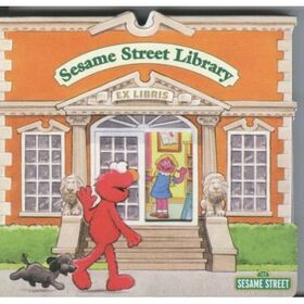 SesameStreetLibraryBookElmo