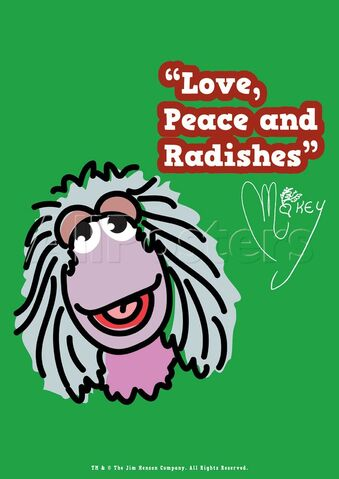File:Poster Fraggle Rock-Love, Peace And Radishes.jpg