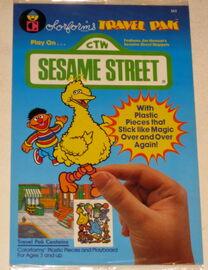 Sesame street 1986 travel pak 1