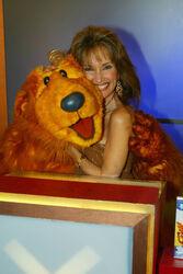 Susan Lucci and Bear