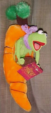 Kermit in a carrot