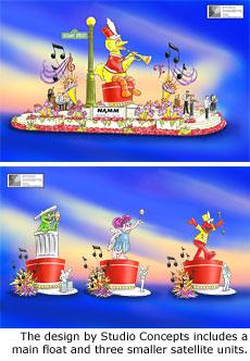 File:2009 Rose Parade float 2.jpg