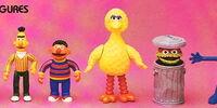 Sesame Street poseable figures (Tara Toys)