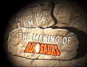 Dinosaurs Making Of Logo