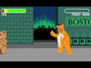 Foggy bear