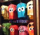 Sesame Street Big Face t-shirts (Universal Studios Japan)