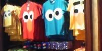 Sesame Street Big Face t-shirts (Universal Studios Japan)