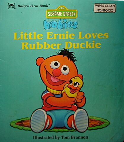 File:Little ernie loves rubber duckie.jpg