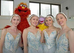 NY Ballet Alina Dronova, Callie Bachman, Sara Adams, and Kristen Segin