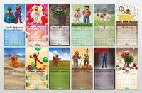 Sesamstrasse 2011 calendar f