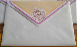 Whitings 1980 kermit piggy envelopes 3