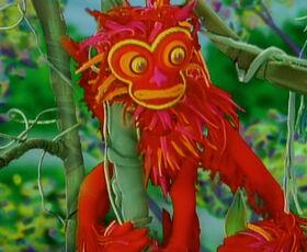 Wilf red howler monkey