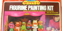 Muppet figurine painting kits (Avalon)