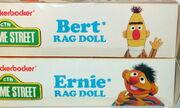 Knickerbocker 1976 rag dolls ernie bert plush 1