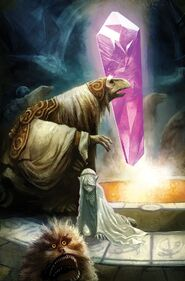 Power of the Dark Crystal 07 Mike Huddleston cover textless