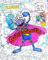 Adventures super grover origins
