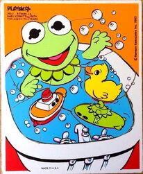 Playskool1983BabyKermBath8pcs