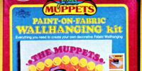 Muppet Paint-on-Fabric kits
