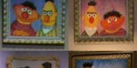 Artistic renderings of Muppet characters