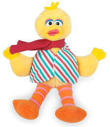 Gund 2010 musical holiday plush big bird
