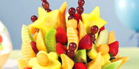 Sesame Street fruit arrangements