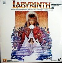 Labyrinth-Laserdisc
