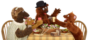 Three Bears dinner