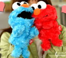 Candy Funny Elmo mini puppets