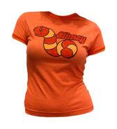 Tshirt-slimeyorange