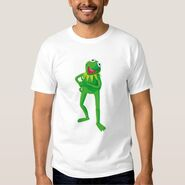 Zazzle 2 kermit standing shirt