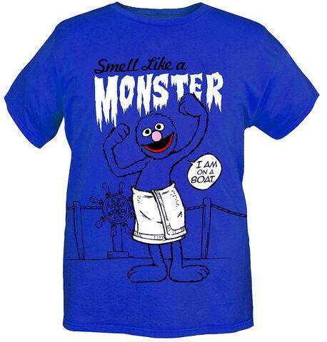 File:Smell Like a Monster T-shirt.jpg