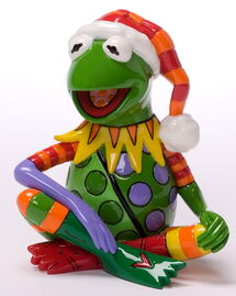 Britto christmas kermit 1