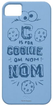 Zazzle c is for cookie