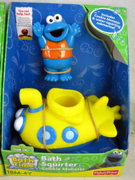 Fisher-price 2010 bath squirter cookie monster