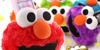 Elmo Colorful Fluffy cell phone stands