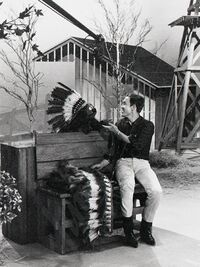 Jimmy Dean and Rowlf 1964
