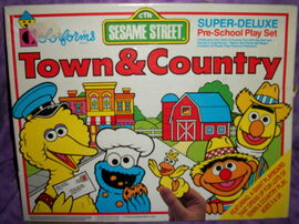 Town and country colorforms set 1