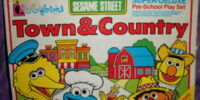Sesame Street Town & Country Play Set