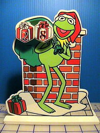 Giftco kermit countdown christmas decoration 1