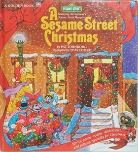 ASesameStreetChristmasGoldenBook