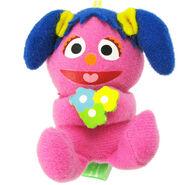Bandai 2005 sesame japan mascots fuwakko puppet mini plush toys 2