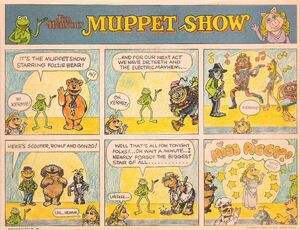 Muppet Show Comic Printer tablet cover