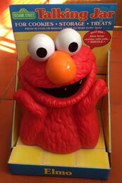 Funomenon cookie jar elmo 1