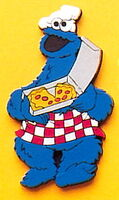 Applause 1994 magnets sesame vinyl cookie monster