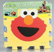 Sesame Street Make-A-Face Foam Floor Puzzle b