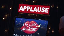 Up Late with Miss Piggy - applause sign