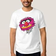 Zazzle animal with collar shirt