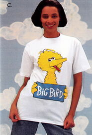 Sesame catalog shirt big bird