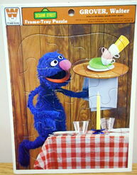 Waiter grover frame-tray 1979